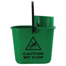 15ltr Bucket with Wringer Green