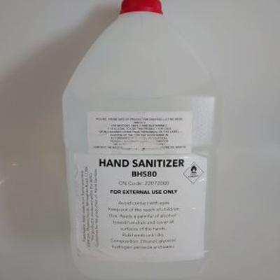 4 Litre Liquid Alcohol-based Hand Sanitizer